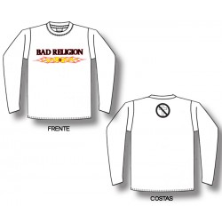 Bad Religion - Long Sleeve - Flaming Logo