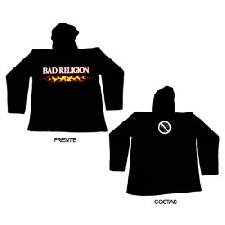 Bad Religion - Sweat - Flaming Logo