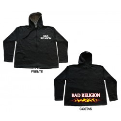 Bad Religion - Casaco - Flaming Logo