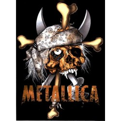 Metallica - Autocolante - Pirate Skull