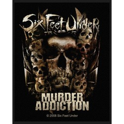 Six Feet Under - Remendo/Patch - Murder Addiction