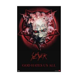 Slayer - Poster - God Hate Us All