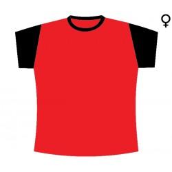 T-Shirt de Mulher Duas Cores