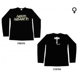 Amon Amarth - Long Sleeve de Mulher - Logo