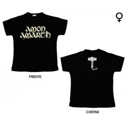 Amon Amarth - T-Shirt de Mulher - Logo
