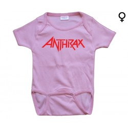 Anthrax - Body de Bebé - Logo