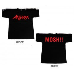 Anthrax - T-Shirt - Logo