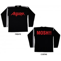 Anthrax - Long Sleeve - Logo
