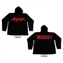Anthrax - Casaco - Logo