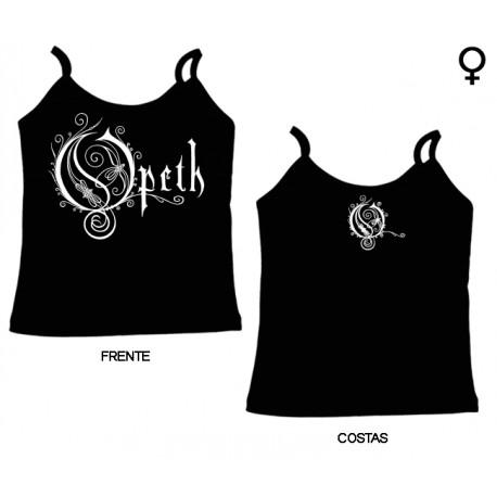 Opeth - Top de Mulher - Logo