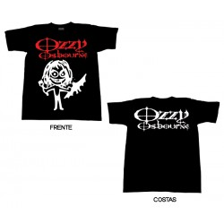 Ozzy Osbourne - T-Shirt - Cartoon Bat