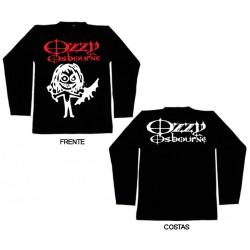 Ozzy Osbourne - Long Sleeve - Cartoon Bat