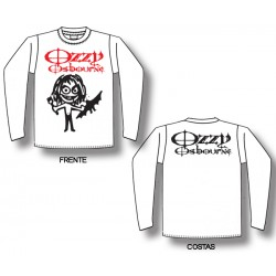 Ozzy Osbourne - Long Sleeve - Cartoon Bat