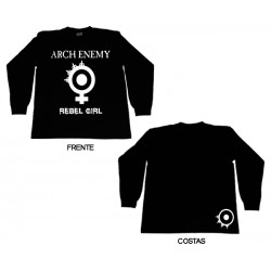 Arch Enemy - Long Sleeve - Rebel Girl