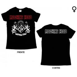 Machine Head - T-Shirt de Mulher - Crest