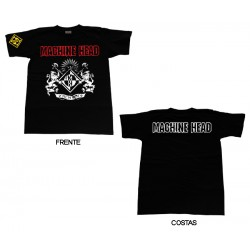 Machine Head - T-Shirt - Crest