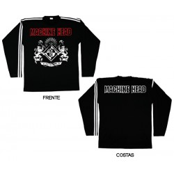 Machine Head - Long Sleeve - Crest