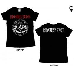 Machine Head - T-Shirt de Mulher - Classic Crest