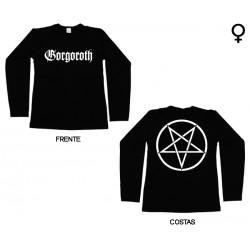Gorgoroth - Long Sleeve de Mulher - Logo
