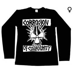 Corrosion Of Conformity - Long Sleeve de Mulher - Logo