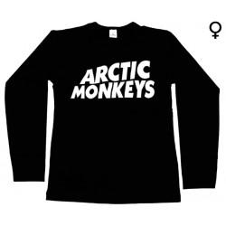 Arctic Monkeys - Long Sleeve de Mulher - Logo