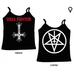 Dark Funeral - Top de Mulher - Cross