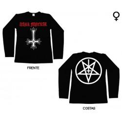Dark Funeral - Long Sleeve de Mulher - Cross