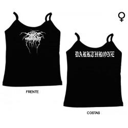 Darkthrone - Top de Mulher - Logo