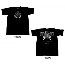 Dimmu Borgir - T-Shirt - Death Cult Legion 666