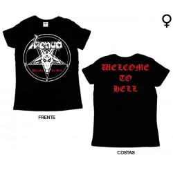 Venom - T-Shirt de Mulher - Welcome to Hell