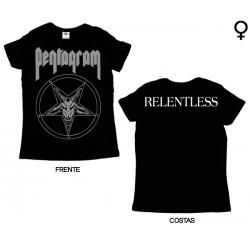 Pentagram - T-Shirt de Mulher - Relentless