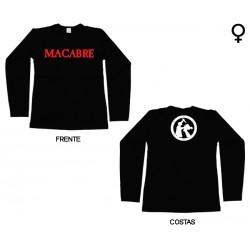 Macabre - Long Sleeve de Mulher - Logo