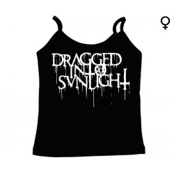 Dragged into Sunlight - Top de Mulher - Logo