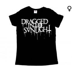 Dragged into Sunlight - T-Shirt de Mulher - Logo