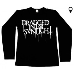 Dragged into Sunlight - Long Sleeve de Mulher - Logo