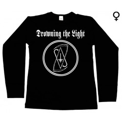 Drowning the Light - Long Sleeve de Mulher - Logo