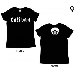 Caliban - T-Shirt de Mulher - Logo