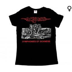 Carcass - T-Shirt de Mulher - Symphonies Of Sickness