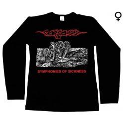 Carcass - Long Sleeve de Mulher - Symphonies Of Sickness