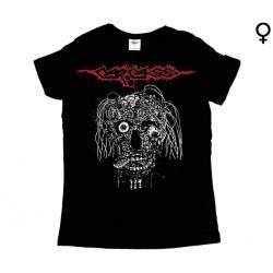 Carcass - T-Shirt de Mulher - Rotting Face