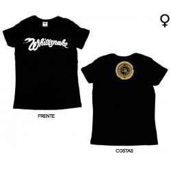 Whitesnake - T-Shirt de Mulher - Classic Logo