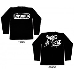 The Exploited - Long Sleeve - Logo