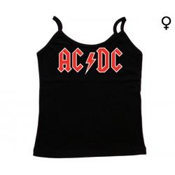 AC/DC - Top de Mulher - Logo
