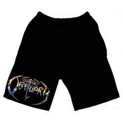 Obituary - Calção - Bat Logo