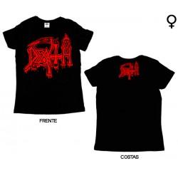 Death - T-Shirt de Mulher - Logo