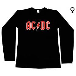 AC/DC - Long Sleeve de Mulher - Logo
