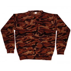 Sweat Shirt Camuflada