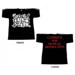 Napalm Death - T-Shirt - Scum Logo