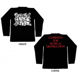 Napalm Death - Long Sleeve - Scum Logo