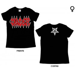 Vader - T-Shirt de Mulher - Logo